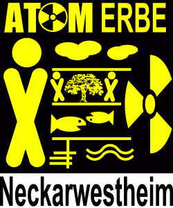 AG AtomErbe Neckarwestheim Logo